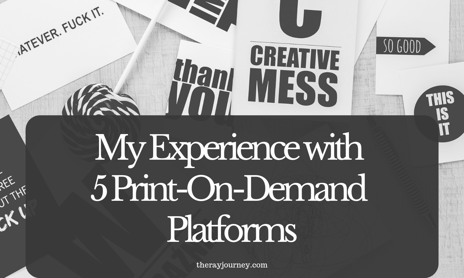 My experience with 5 print on demand platforms: zazzle, redbubble, cafepress, threadless, printful