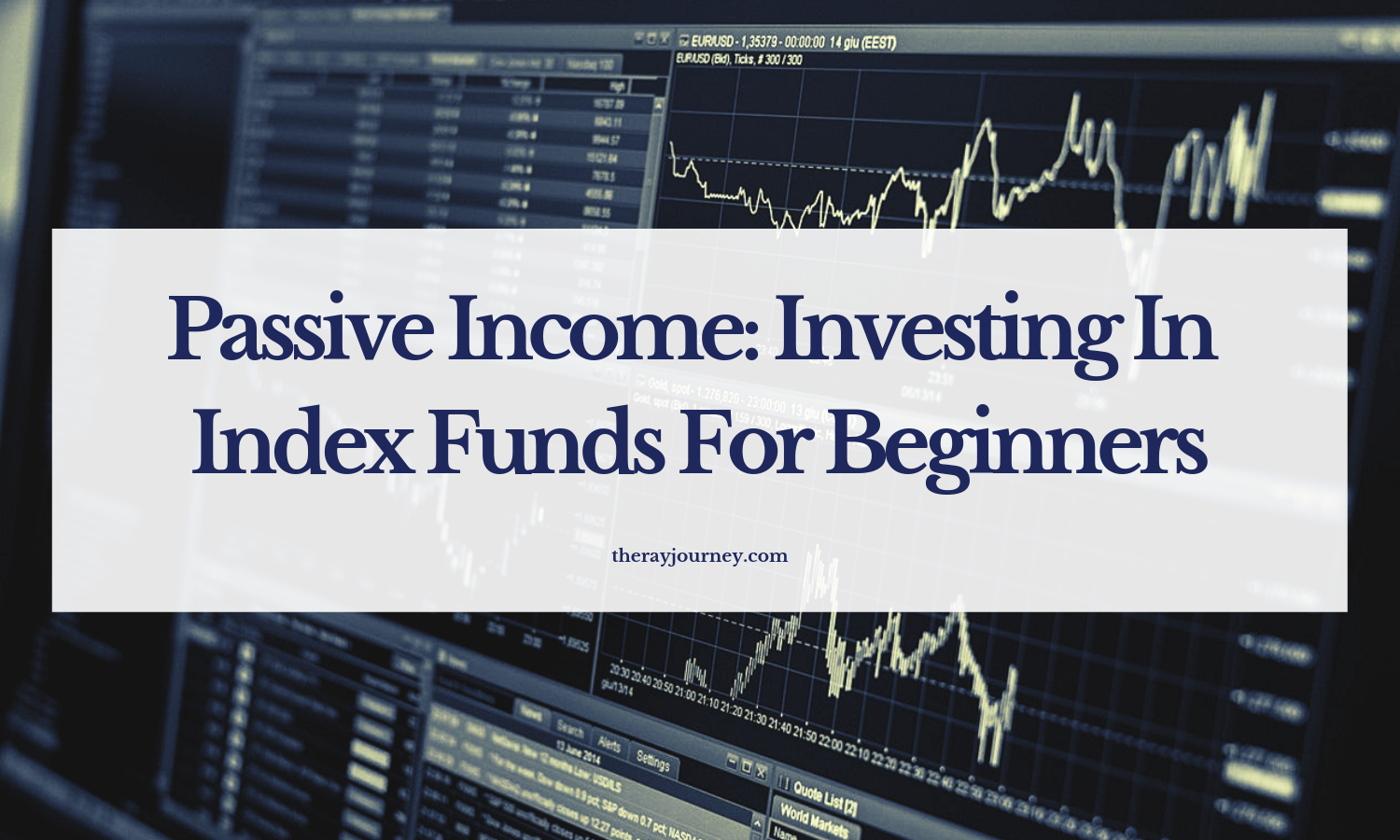 Passive Income: Investing In Index Funds For Beginners