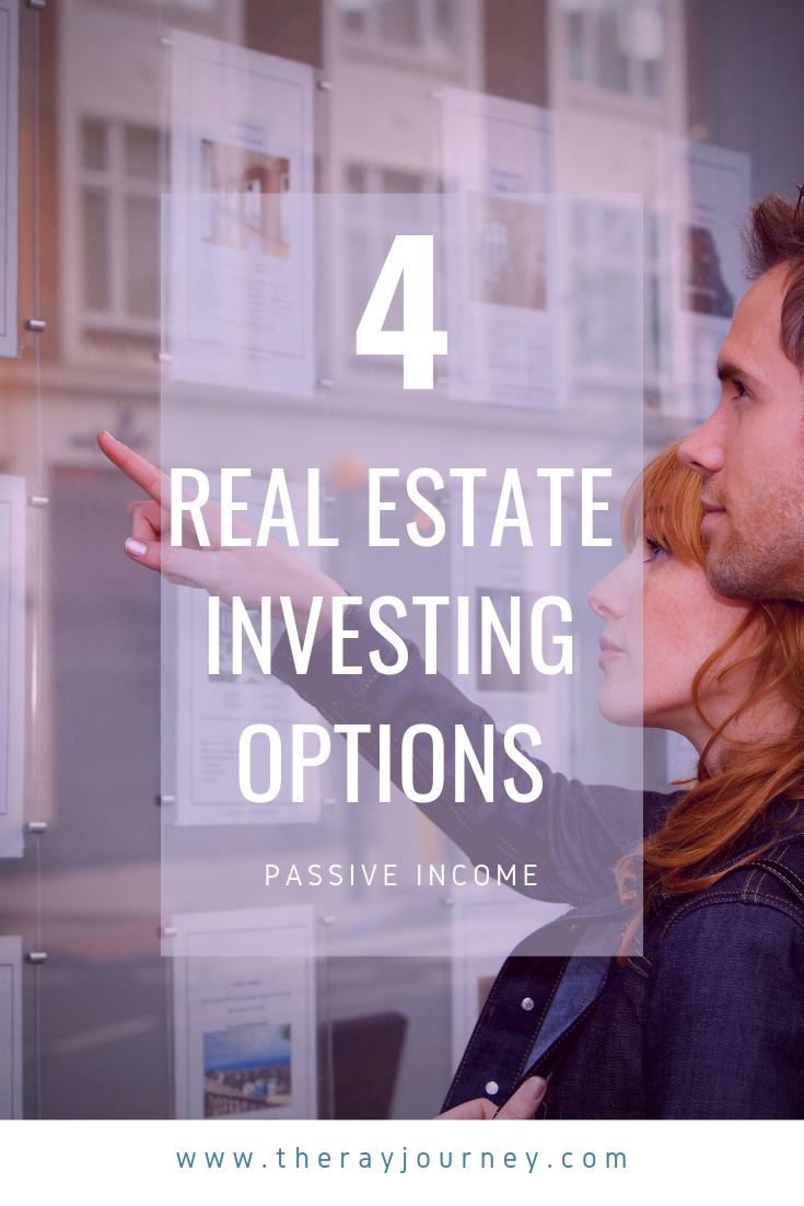 4 real estate investing options on pinterest