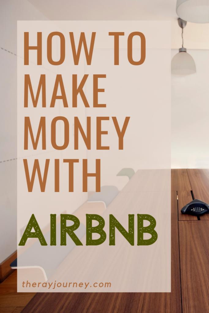 Passive Income: How To Make Money With Airbnb. pinterest