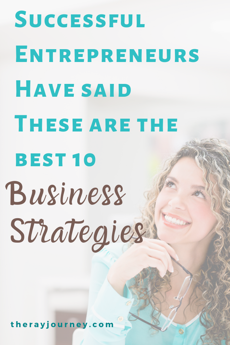 Successful Entrepreneurs Have Said: These Are The Best 10 Business Strategies. Pinterest