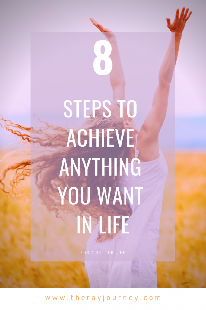 8 Steps To Achieve Anything You Want In Life. Pinterest.