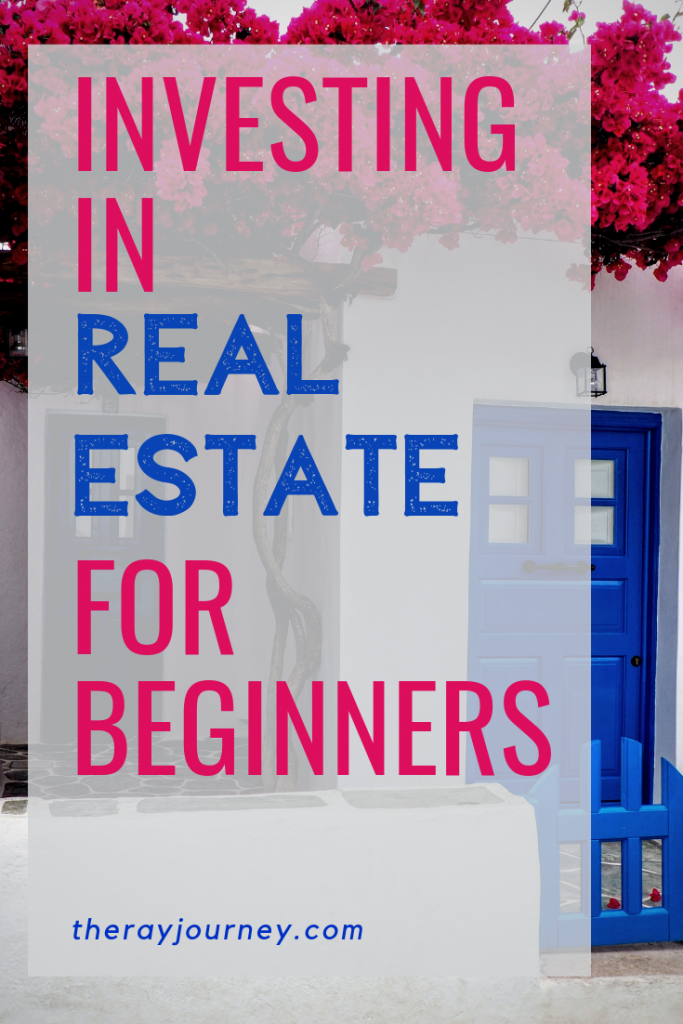 Passive income and 4 real estate investing options on pinterest