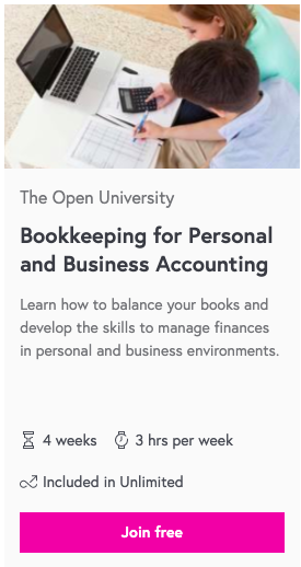 Bookkeeping for Personal and Business Accounting